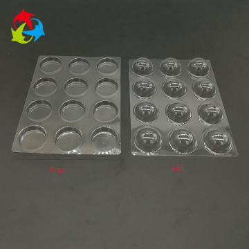 12 cavity truffle chocolate insert tray packaging