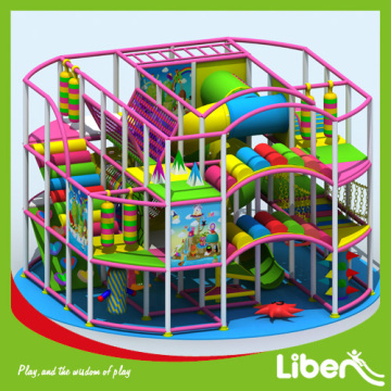 Funny indoor amusement playground