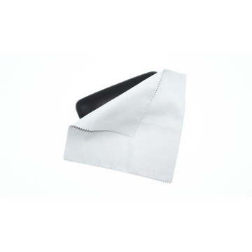 Ultrasonic edge microfiber suede cleaning cloth