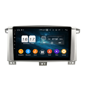 Android 9 car radio for Toyota LC100 2005-2007