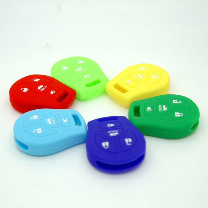 Logo Nissan 4 Buttons Key Case
