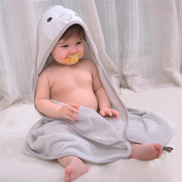 New Hooded Panda Model Baby Bathrobe Cartoon Baby Spa Towel Character Kids Bathrobe Baby Beach Towels