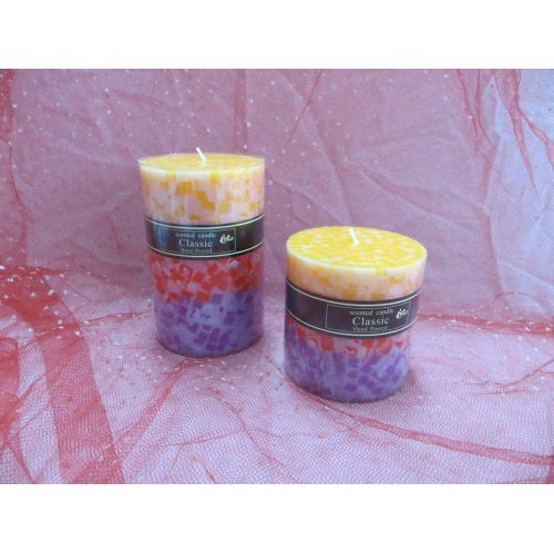 Church Scented Pillar Candles