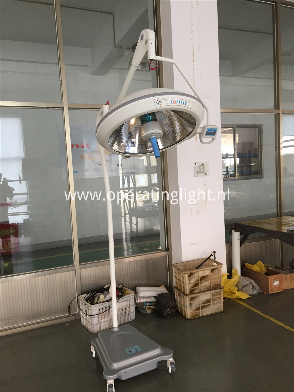 Medical instrument portable light