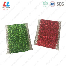 golden silver scouring sponge pad