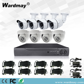 CCTV 8chs 1.0MP Security DVR Kits Systems