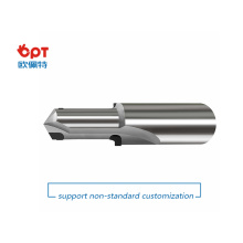 PCD step drill combination reamer for stainless steel