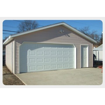 Oghere Ụlọ Ọrụ Aluminum Alloy Residential Sectional Garage Door