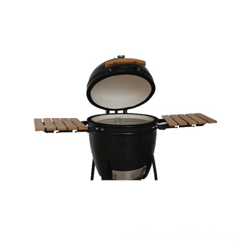 Features 13 Inch Ceramic Kamado Grill