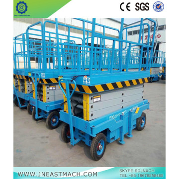 1t 4m Big Load Capacity Scissor Lift Table