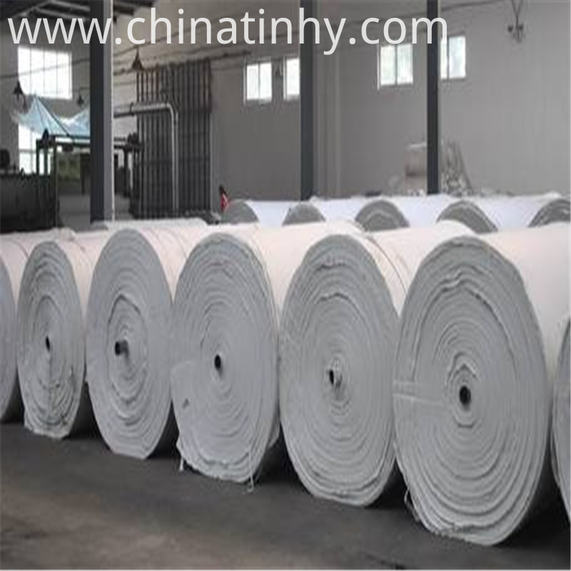 Long Fiber Bentonite Geotextile On Roll