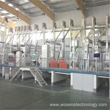 50 T/D full Complete set rice milling equipment