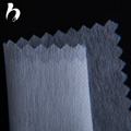 Nonwoven fabric for shirts and blouses