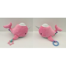 Whale Plush with Light and Sound