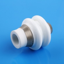 High Current Vacuum Metalized Ceramic Insulator