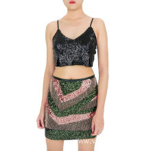 Shining Girls Sequin Skirt