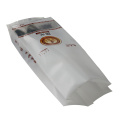 Plastic back centere heat sealed-bag food coffee tea-bags