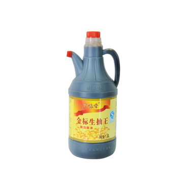 1.6L Plastic Bottle Golden Mark Light Soy Sauce