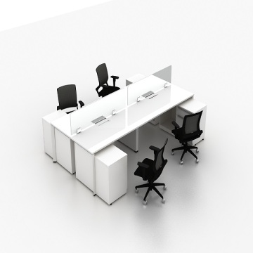 office furniture partition desk glass screen