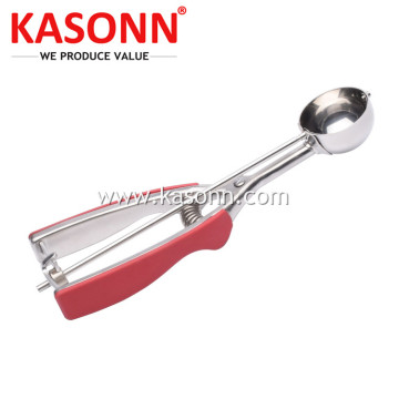 RVS Ice Cream Scooper met antislipgrepen