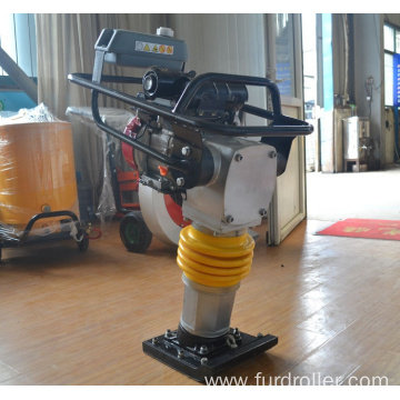 China Manufacturer Own Factory Gasoline Vibrating Tamping Rammer FYCH-80