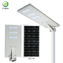 aluminum ip65 120w all-in-one solar led street light