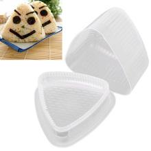 4PCS/Set Triangle Form Sushi Mold Onigiri Rice Ball Press Maker Mold DIY Tool