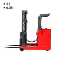 2 tons Electric Reach Truck 6.5m Stand-on