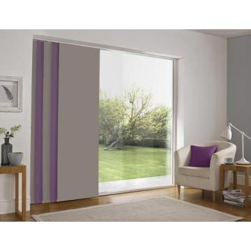 Automatic Sliding Panel Track Blind