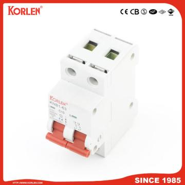 Miniature Circuit Breaker with 10KA high breaking capacity