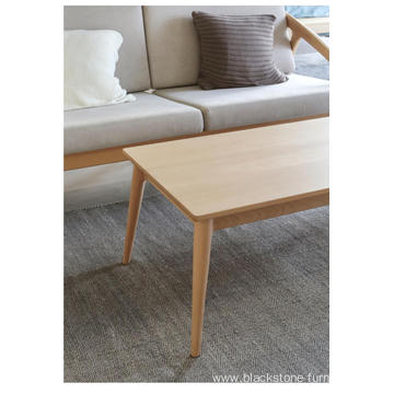 Bay-Max Americian Oak Solid Wooden Coffee Table