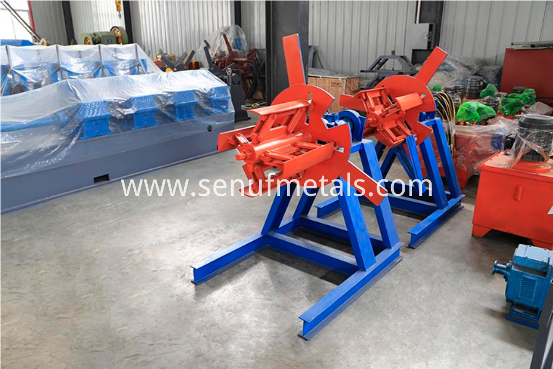 1.5 tons manual decoiler