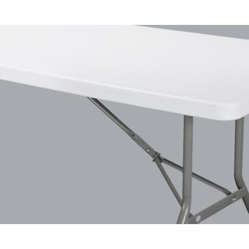240cm Rectangular Table Plastic Folding Table Furniture