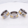 Wholesale Mens Stainless Steel Diamond Rings