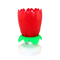 Chrysanthemum Flower Number Candles For Party