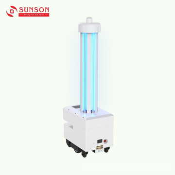 UV Irradiation Antimicrobial Robot