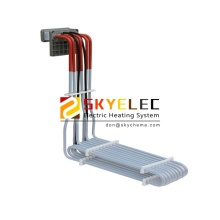 Heating Elements Spiral Over the Side Single Phase Heater