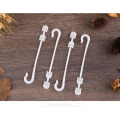 Ordinary 50 Pcs Agricultural Ear Hook Farming Tomatoes Greenhouse Clamp Fruit Vegetable Fix