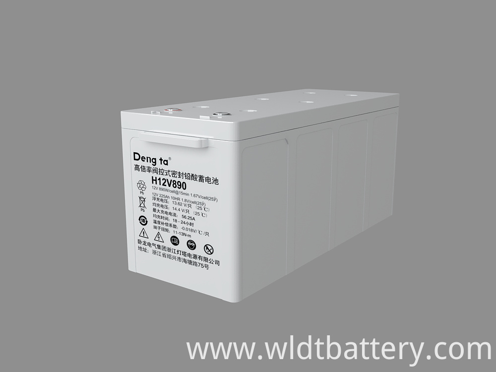 Valve-regulated Sealed Lead Acid Battery, Lead Acid Storage Battery, 12V 820Ah Lead Acid Battery