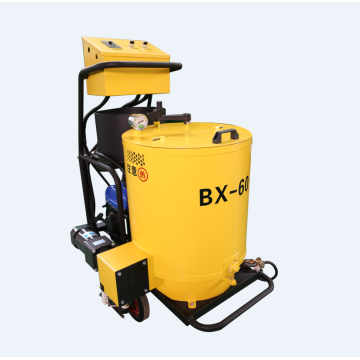Mini crack sealing machine for asphalt pavement
