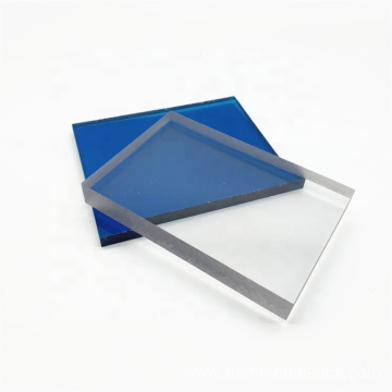 Hard solid polycarbonate sheet high impact resistant