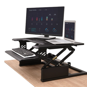 Height adjustable laptop computer stands