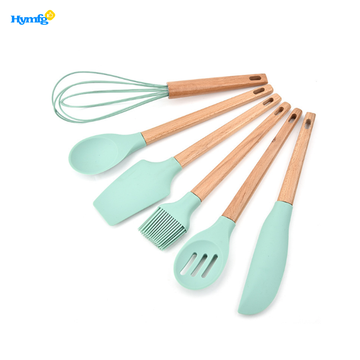 Set of 6pcs Silicone Kitchenware Baking Utensils