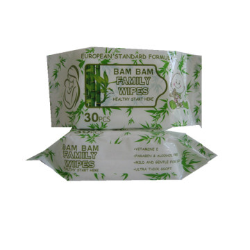 Wholesale Family Use Multi-Purpose Bamboo Cleaning Wet Wipes