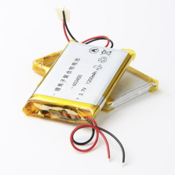Factory Price 603450 3.7V 1200mAh Lipo Battery