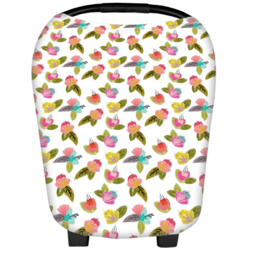 Baby Car Seat Soft Cotton Nursing Cover Canopy
