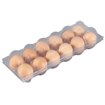 12 Holes Egg Box Blister Plastic Egg Tray