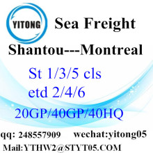 Shantou Local Service to Montreal