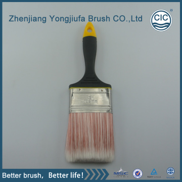 solid plastic handle plastic paint brush