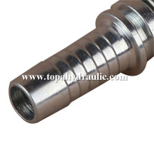 Gates hose crimp quick disconnect hydraulic line fittings